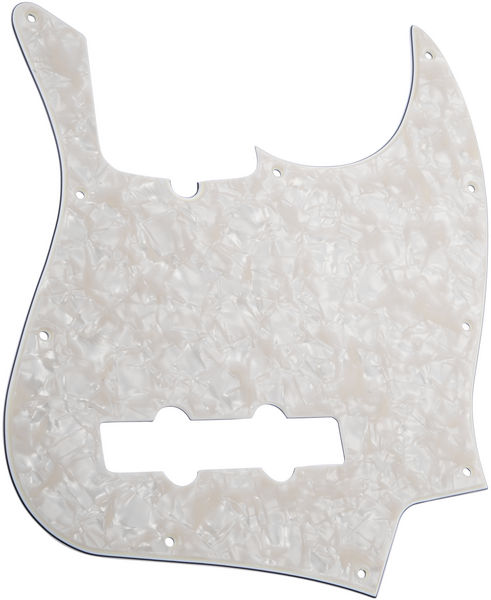 Fender J-Bass Pickguard 10-Hole WP