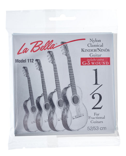 La Bella FG112 1/2 Guitar Nylon