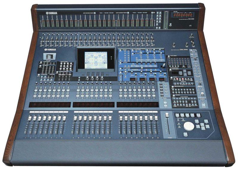 Yamaha DM 2000 VCM Digital Mixer