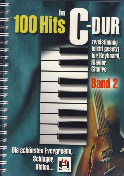 100 Hits in C-Dur Band 2 Musikverlag Hildner