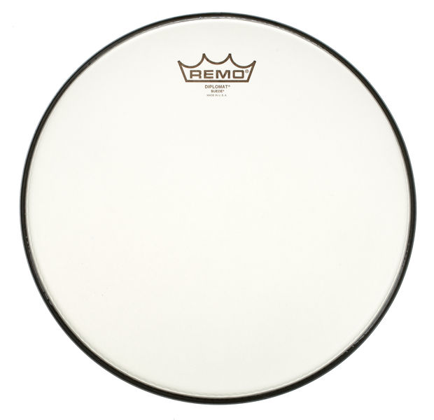 "Remo 12"" Diplomat Suede"