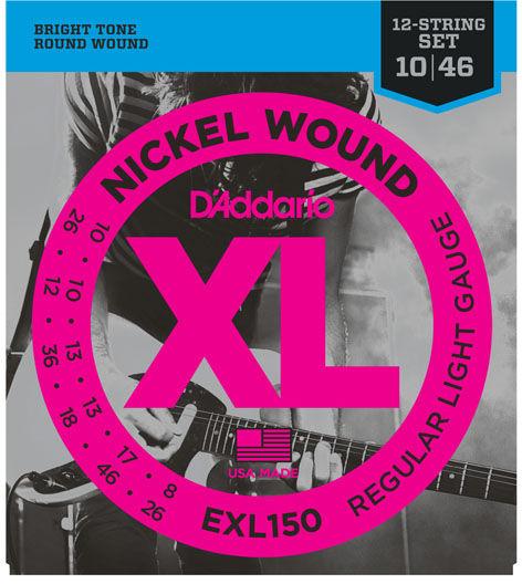Daddario EXL150