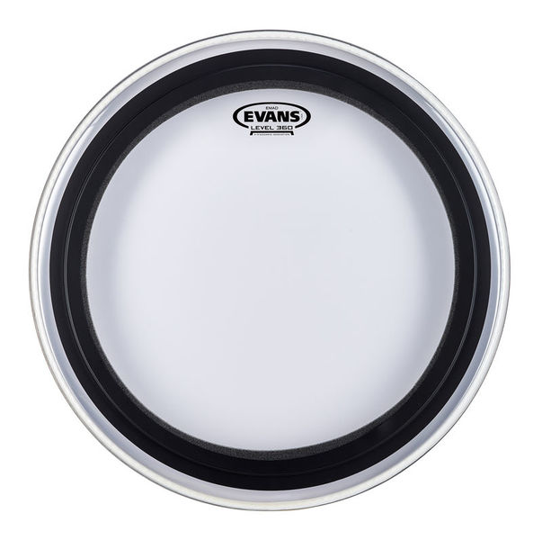 "Evans 18"" EMAD Clear Bass Drum"