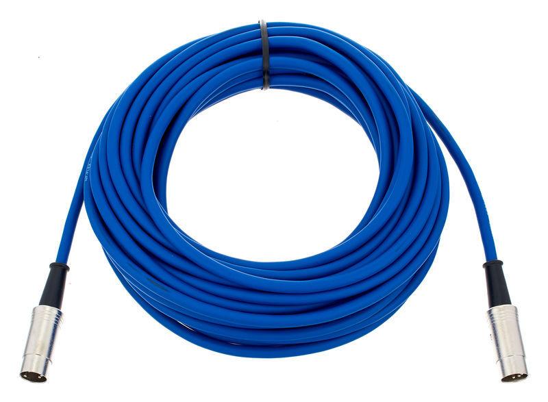 pro snake 18440-10 Midi Cable Blue