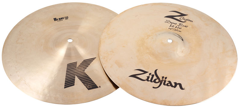 "Zildjian 14"" K/Z Combi Hi-Hat Dyno Beat"