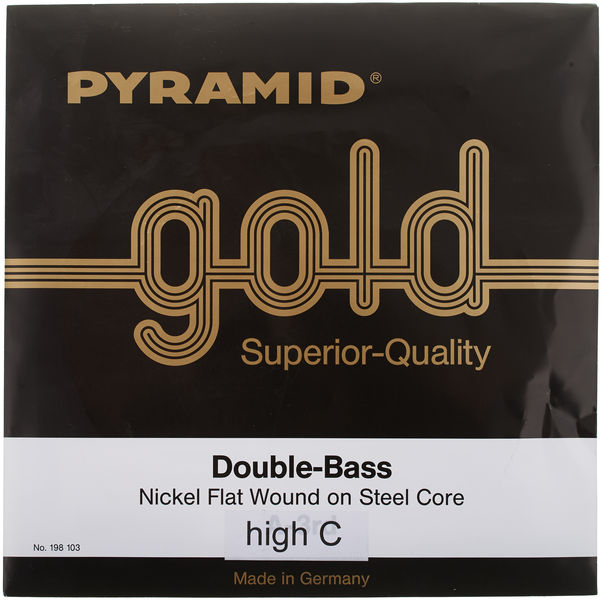 Pyramid Gold Double Bass String