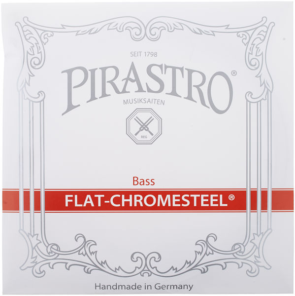 Pirastro Flat Chromesteel Bass 4/4-3/4