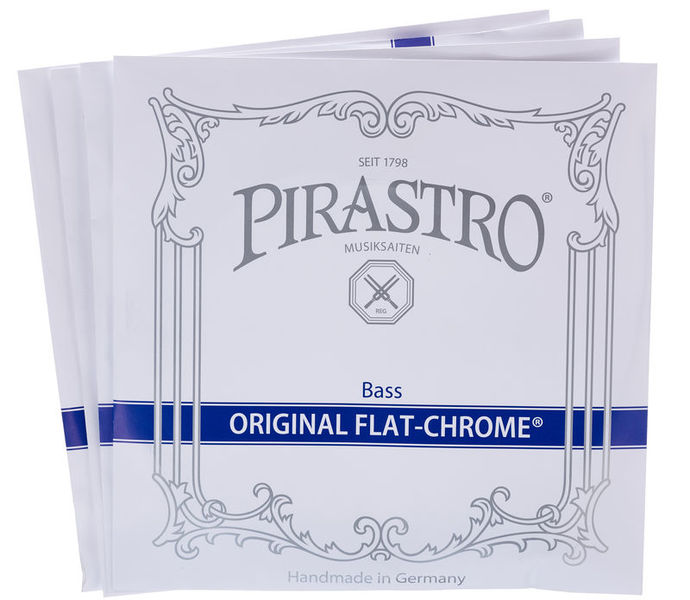 Pirastro Original Flat Chrome Bass