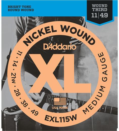Daddario EXL115W