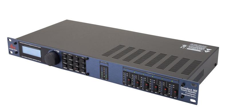 Dbx Driverack 260 Digitales Lautsprechermanagement