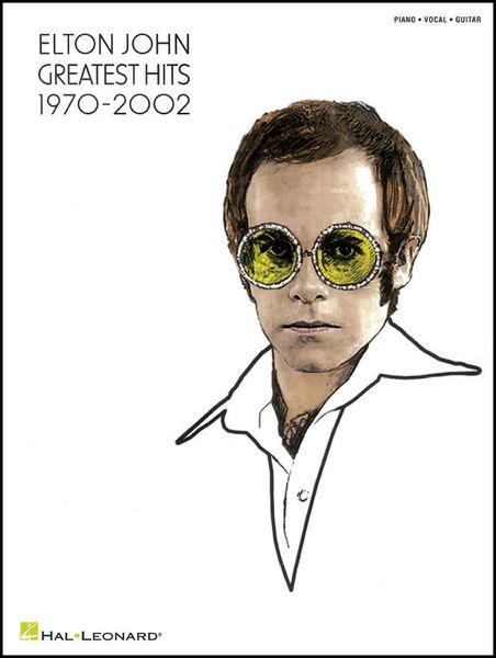 Elton John Greatest Hits Hal Leonard