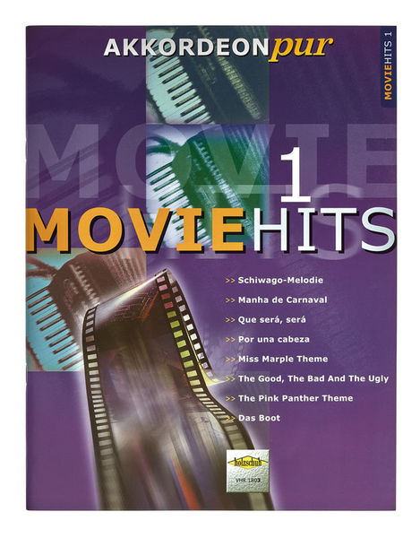 Holzschuh Verlag Akkordeon Pur Moviehits 1