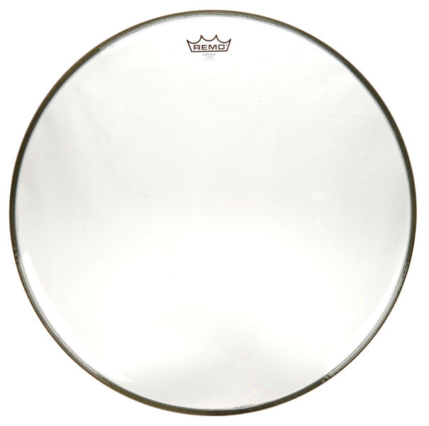 "Remo 22"" Emperor Clear Bass Drum"