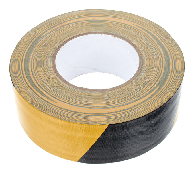 Gerband Tape 254 Yellow/Black