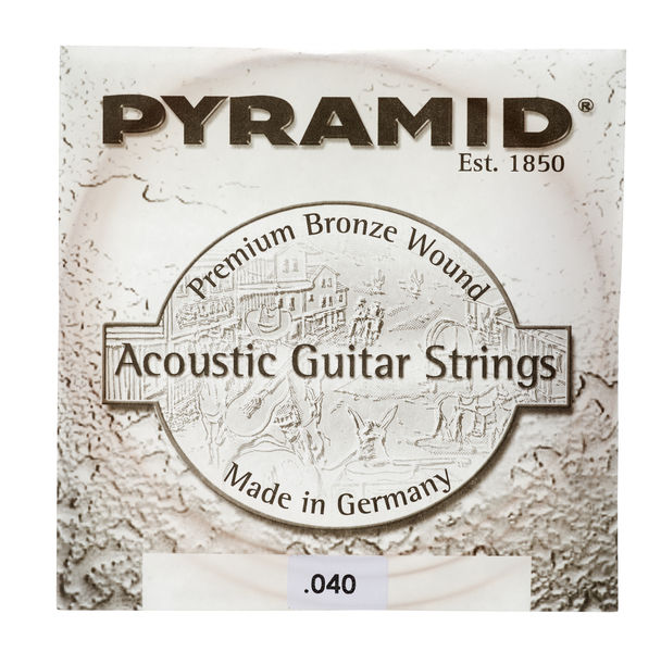 Pyramid 040 Single String