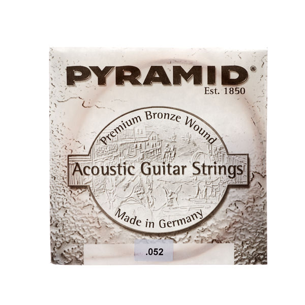Pyramid 052 Single String Bronce