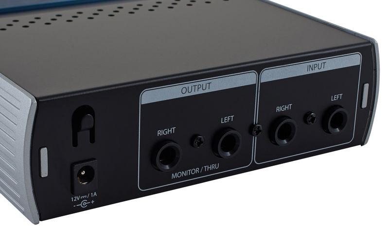 Presonus HP4 - Kopfhörerverstärker Input / Output / Bild: Thomann.de
