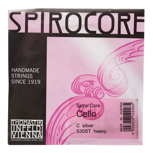 Thomastik Spirocore C Cello 4/4 Silver H