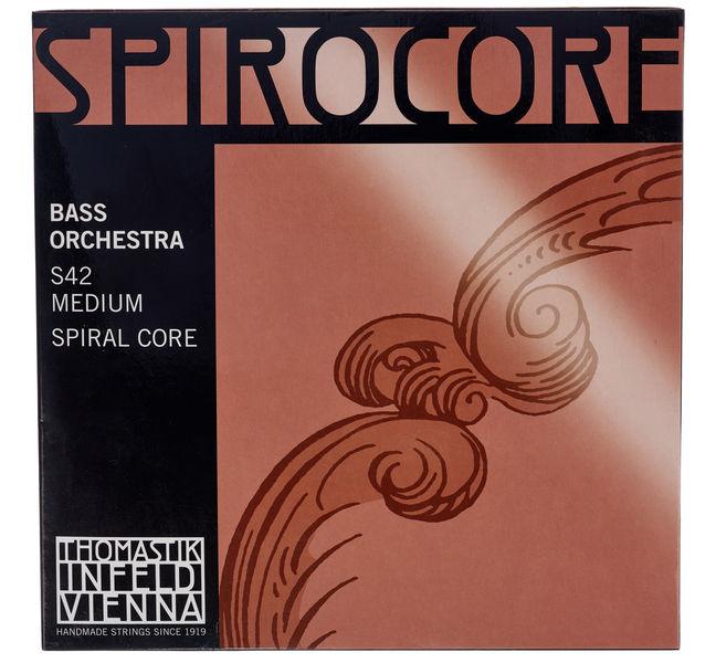 Spirocore Double Bass 4/4 med Thomastik