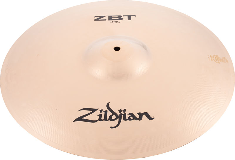 "18"" ZBT Crash Zildjian"