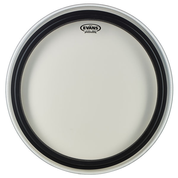 "Evans 24"" EMAD Bass Drum Clear"