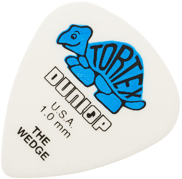 Dunlop Tortex Wedge 1mm Blue