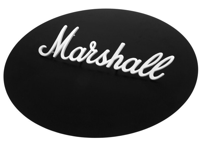 Marshall Amp Logo Large White