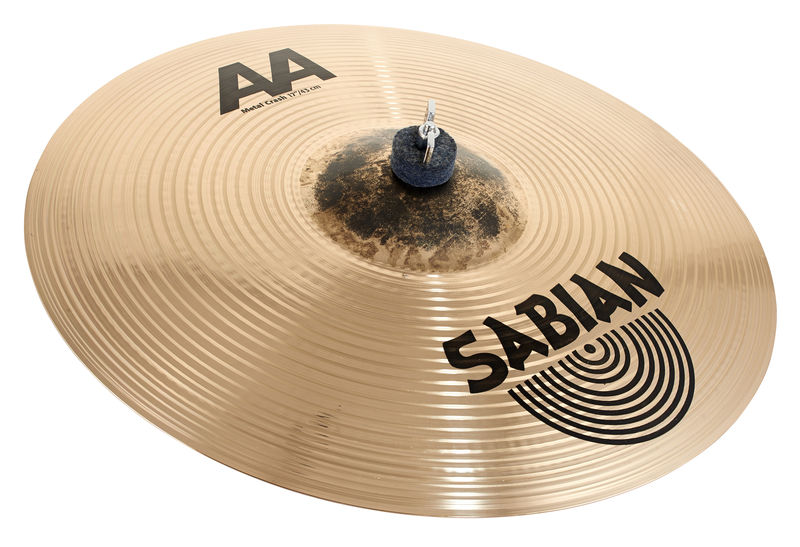"Sabian AA 17"" Metal Crash"