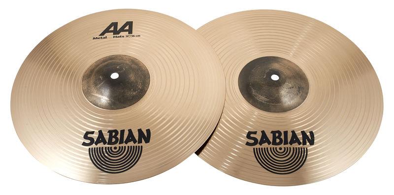 """Sabian AA 14"""" Metal Hats"""
