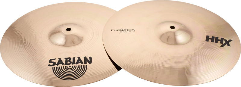"Sabian 14"" HHX Evolution Hi-Hat"