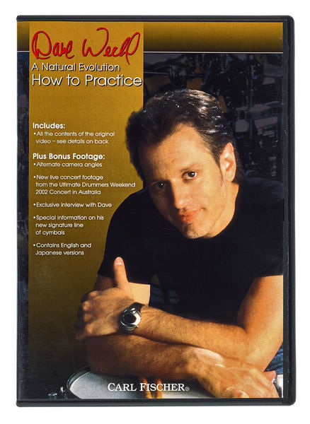Hudson Music Dave Weckl How to Practice