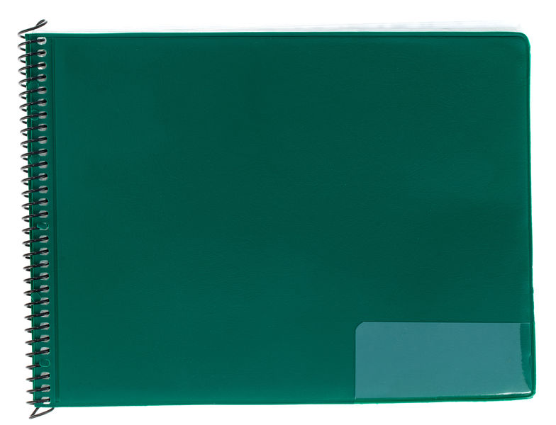 Star Marching Folder 146/25 Green