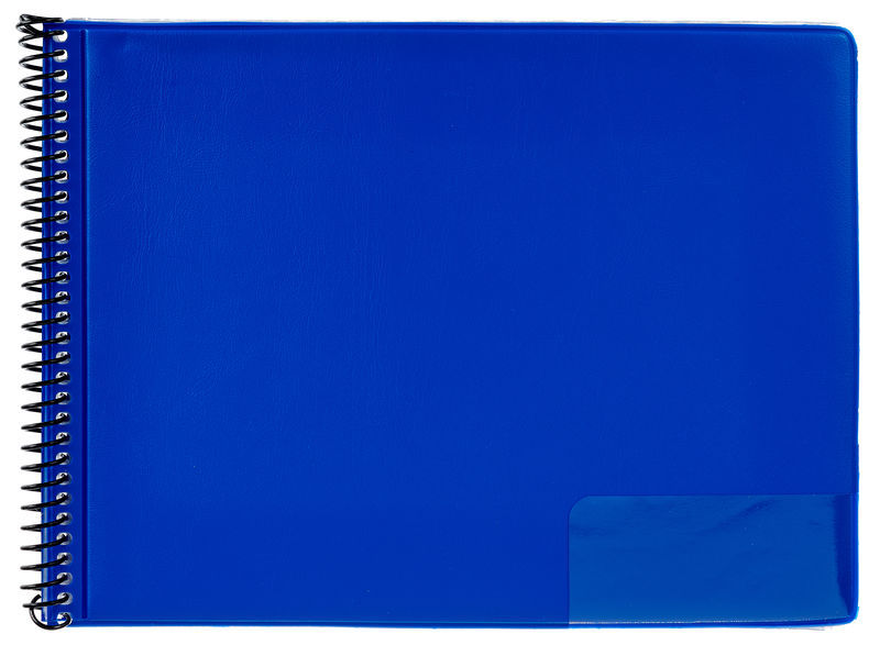 Star Marching Folder 146/10 Blue