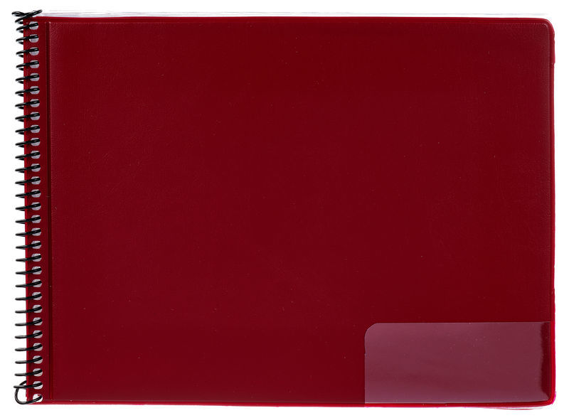 Star Marching Folder 146/15 Red