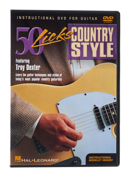 Hal Leonard Country Styles (DVD)