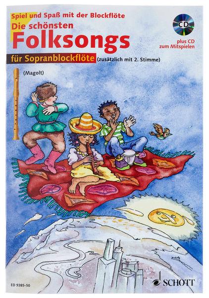 Schott Die schönsten Folksongs Rec