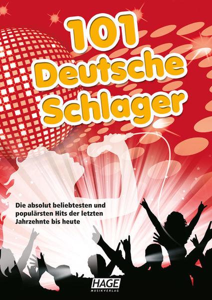 101 Deutsche Schlager und Lied Hage Musikverlag