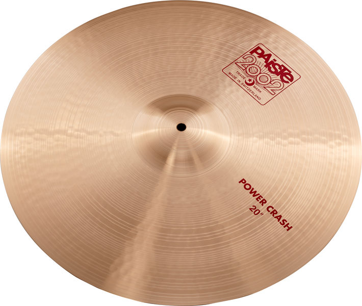 "Paiste 2002 Classic 20"" Power Crash"