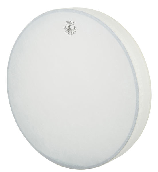 "Remo 16"" x 2.5"" Ocean Drum White"