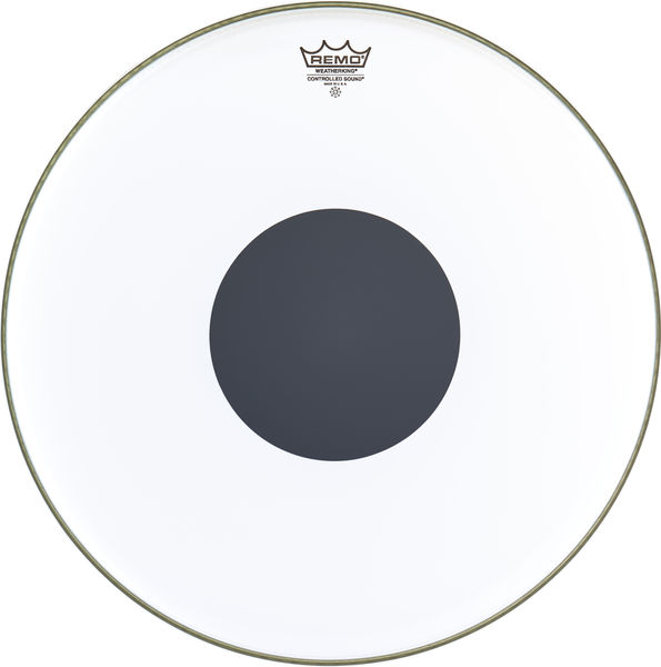 "Remo 18"" CS White Smooth"