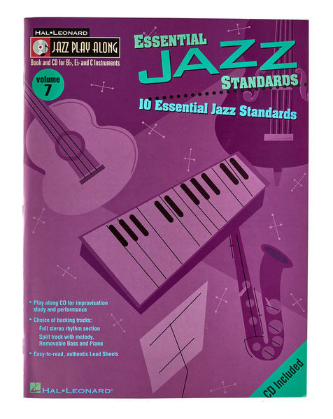 Hal Leonard Jazz Play Along Essential Jazz