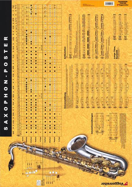 Voggenreiter Poster Saxophone