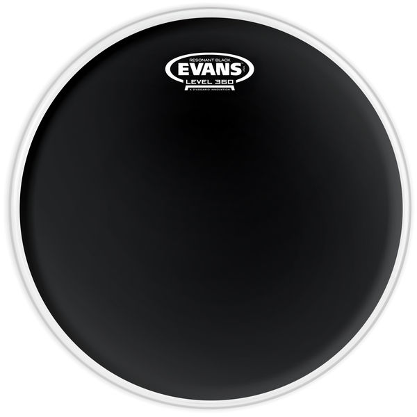 "Evans 15"" TomTom Resonant Head Black"