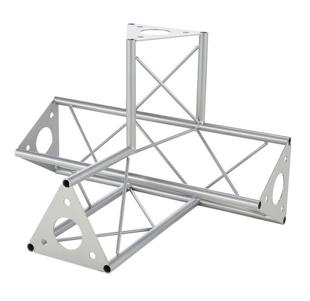 Decotruss 4-Way-Pc. \/ SAT 42 Silver