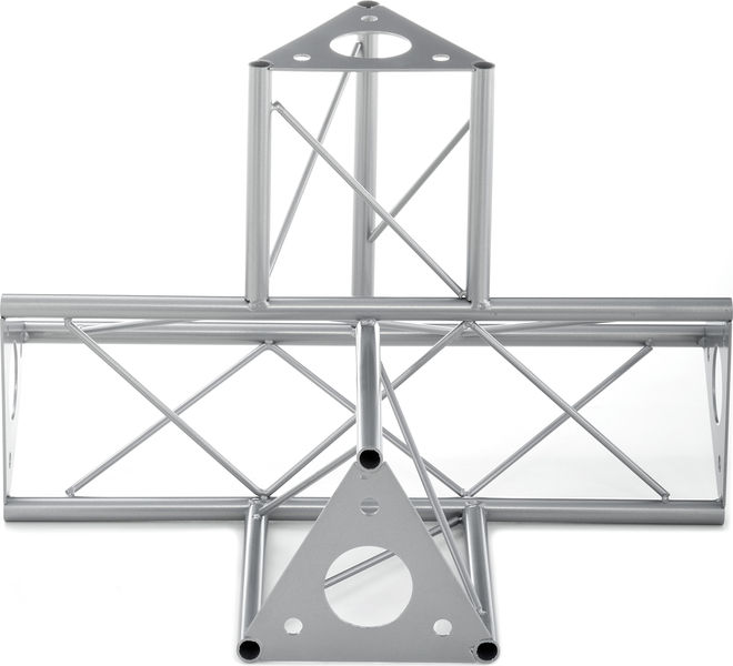 Decotruss 4-Way-Pc. /\ SAT 43 Silver