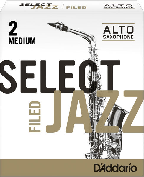 D'Addario Woodwinds 2M Select Jazz Filed Alto
