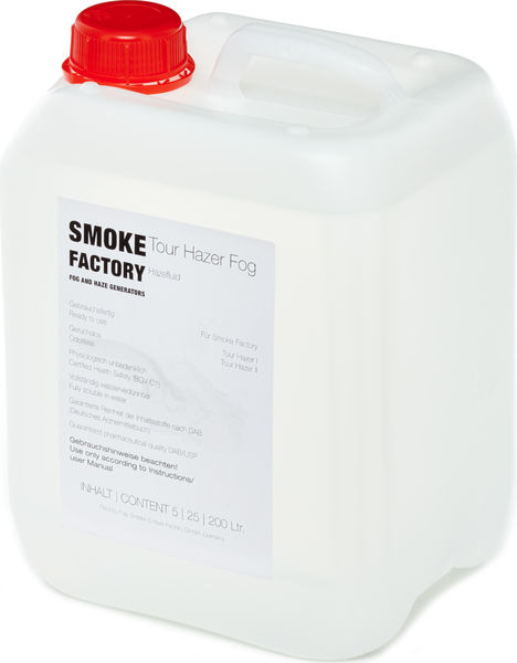 Smoke Factory Tour Hazer Fluid 5L