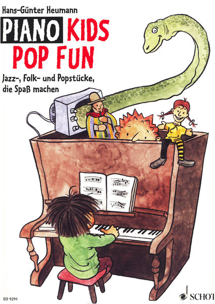 Schott Piano Kids Pop Fun