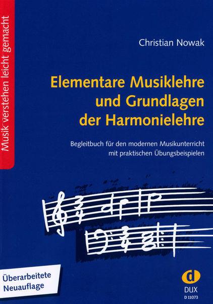 Elementare Musiklehre Edition Dux