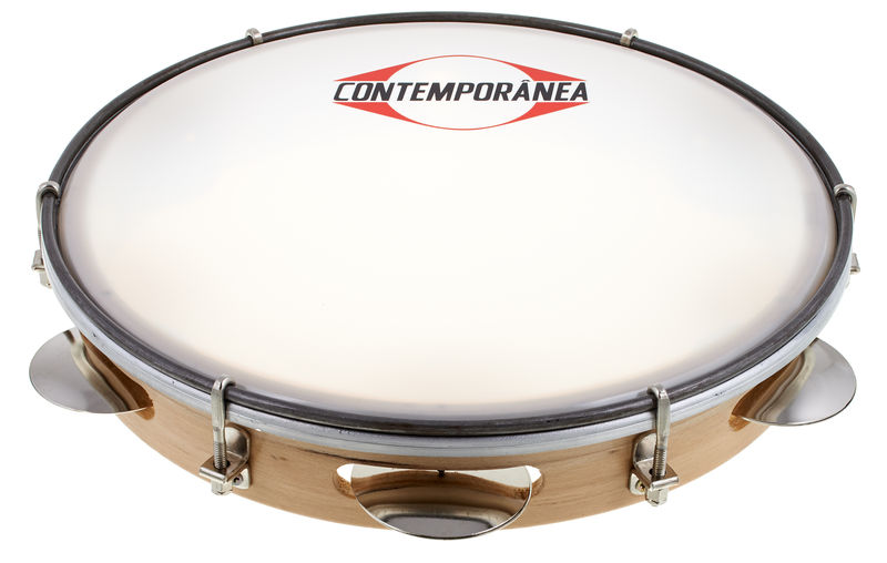 "Contemporanea 10"" Pandeiro Wood"